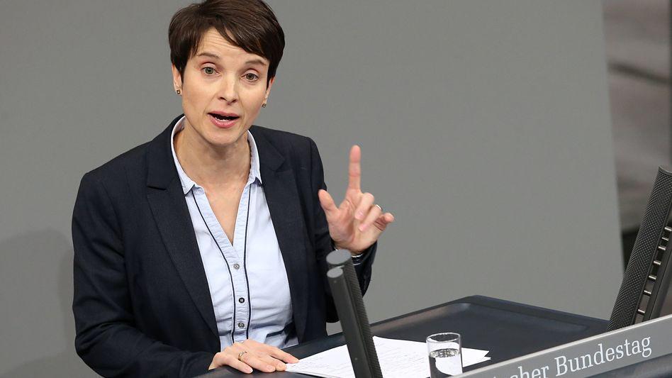 Frauke Petry im Bundestag