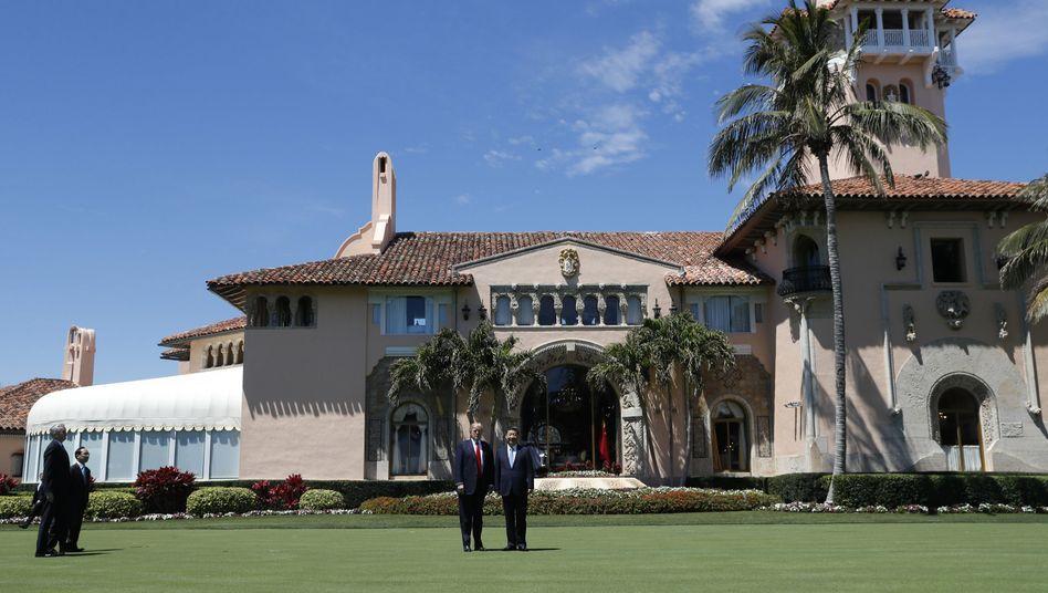 Rechnung für Secret Service in Mar-a-Lago: Der gierige Präsident