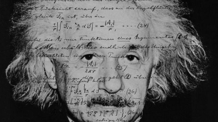 """Einstein im Original: """"Ordentliche, sehr klare Schrift"""""""