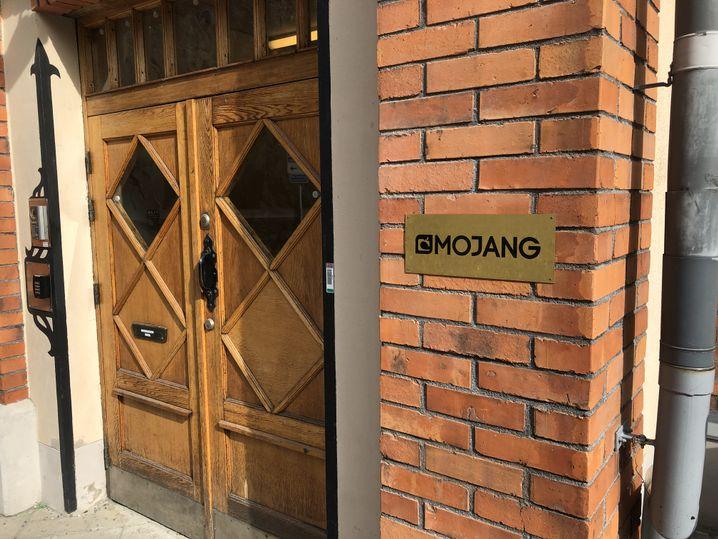 Eingang von Mojang