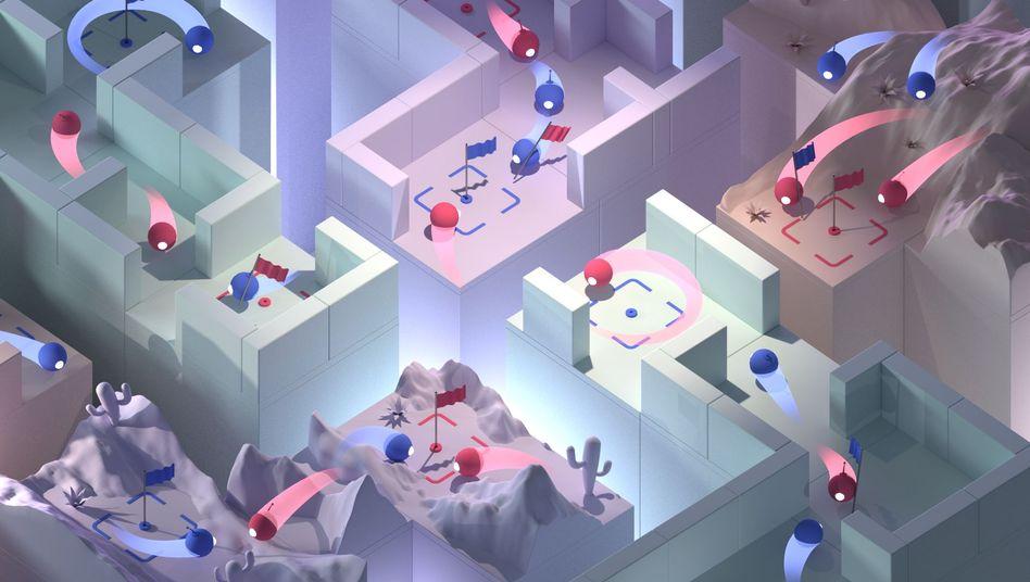 """Spiel im Team: Künstliche Intelligenz schlägt Mensch bei """"Quake III Arena"""""""