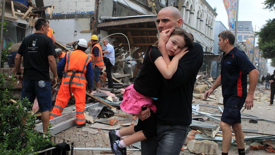 """Erdbeben in Christchurch: """"Neuseelands schwärzester Tag"""""""