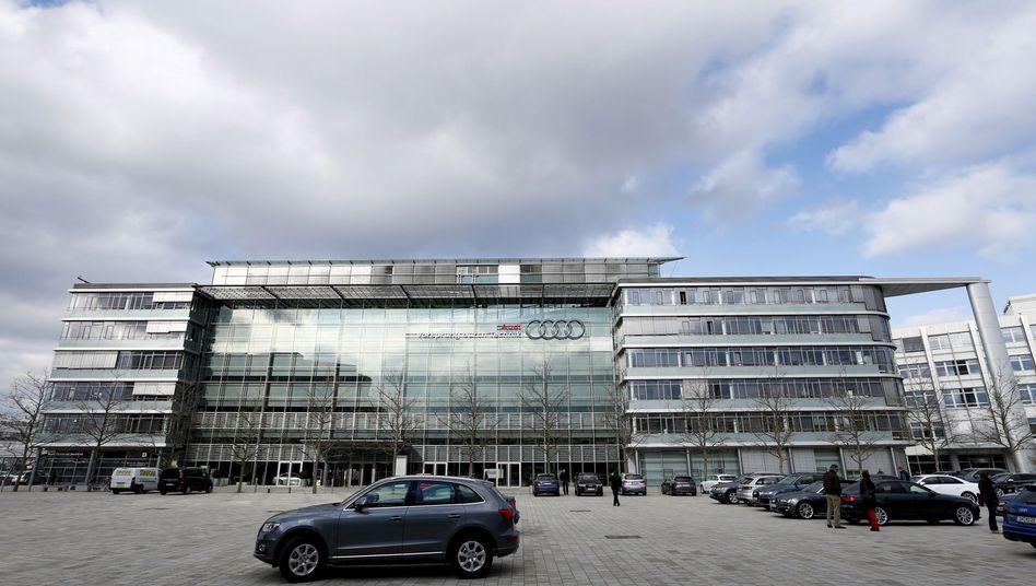 Audi-Zentrale in Ingolstadt