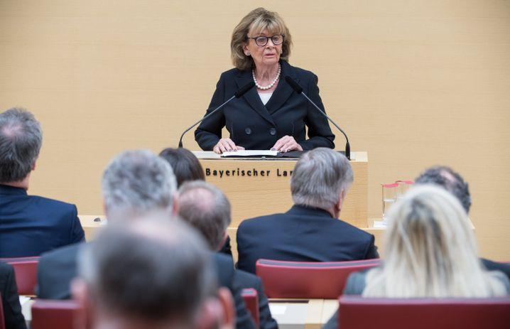 Charlotte Knobloch bei ihrer Rede