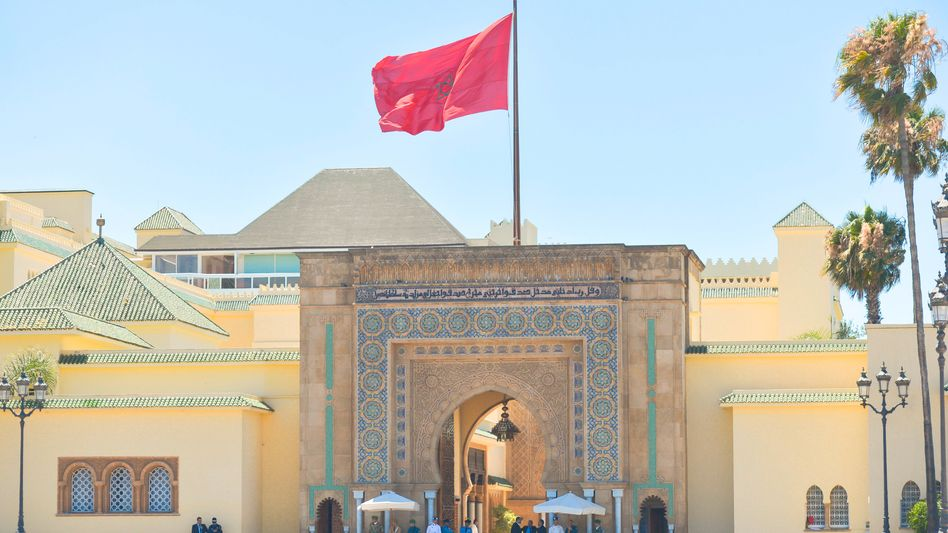Blick auf den Königspalast in Rabat: Studien, die »Marokkos Entwicklung bremsen« wollen