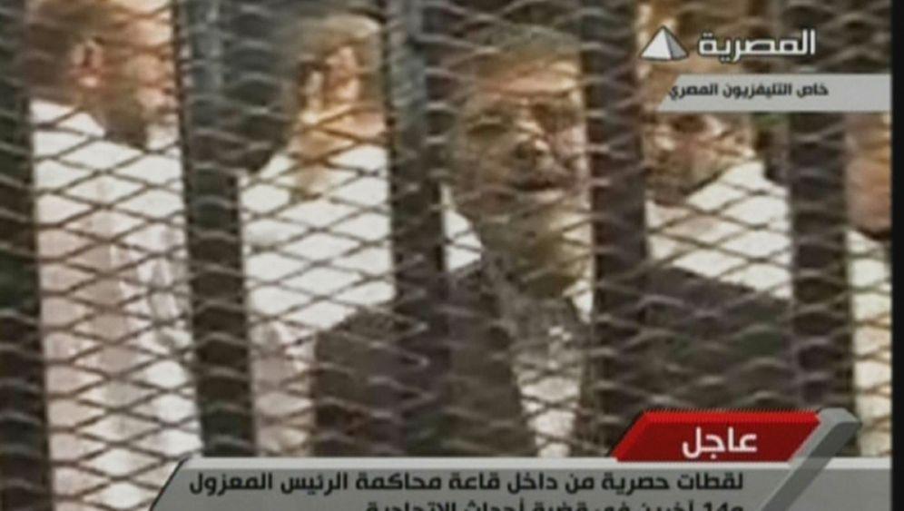 Prozess: Ägyptens Ex-Präsident vor Gericht