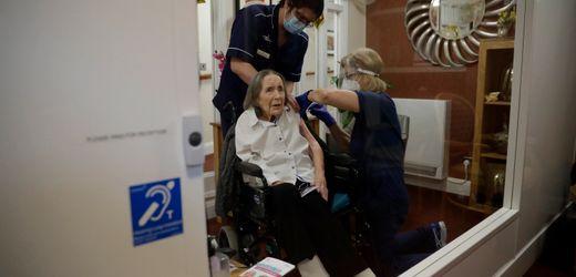 Corona-Ausbrüche in Pflegeheimen in Großbritannien: Langsamer Impffortschritt, gefährliche Mutante