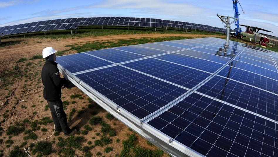 Solarpark in Freiberg: Image ist alles