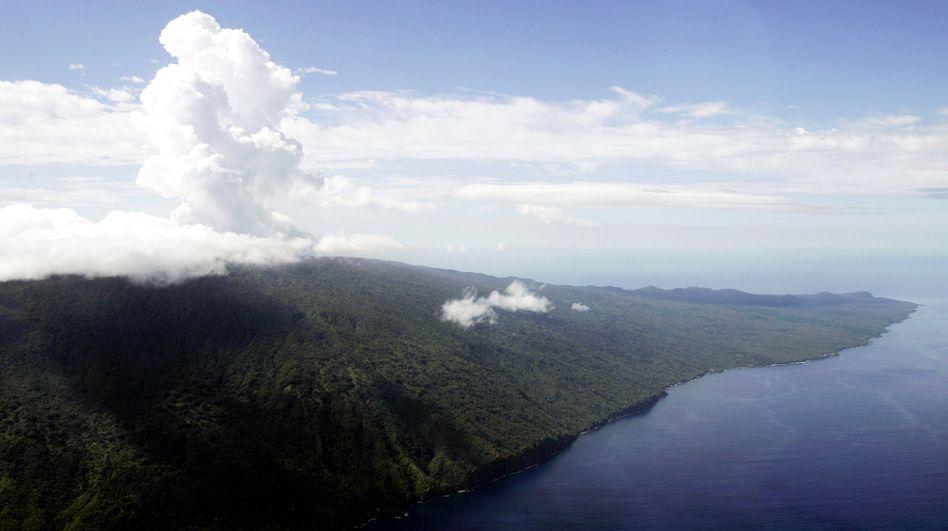 Vulkan in der Vanuatu-Inselgruppe (Archivbild): Warnung vor einer Aschewolke