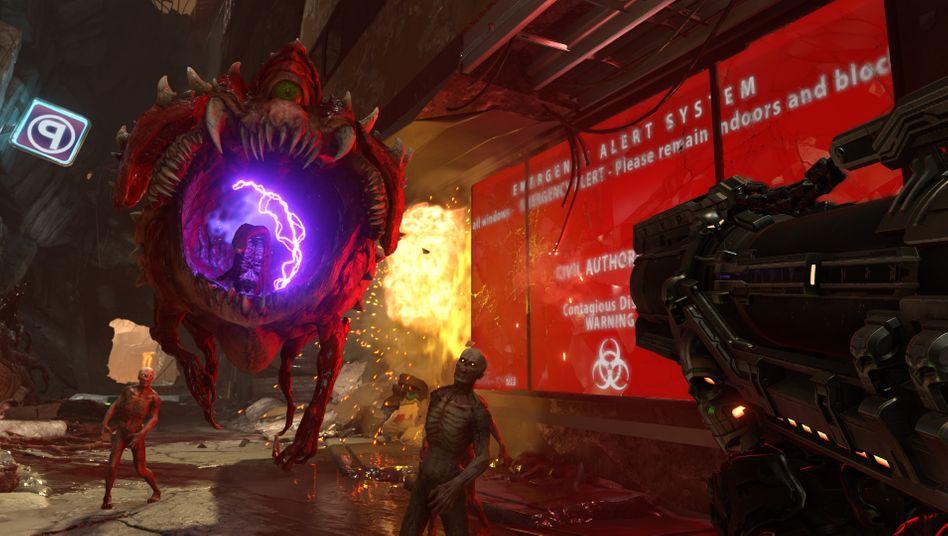 »Doom Eternal«: Ganz sicher kein Spiel für Kinder