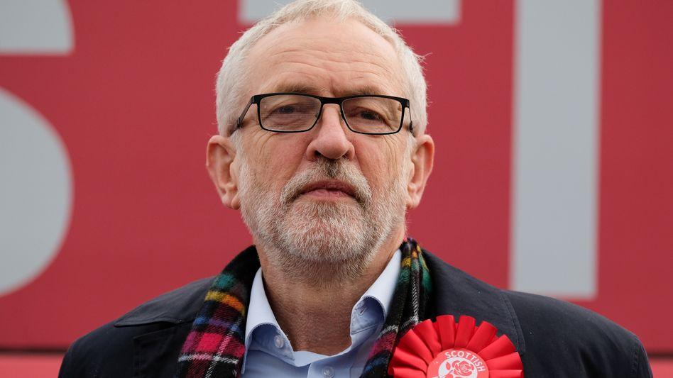 """Labour-Chef Jeremy Corbyn: """"Ich gebe zu, dass es ein echtes Problem gibt"""""""