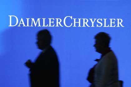 Logo-Reform: DaimlerChrysler soll auf einer außerordentlichen Hauptversammlung in Daimler umgetauft werden