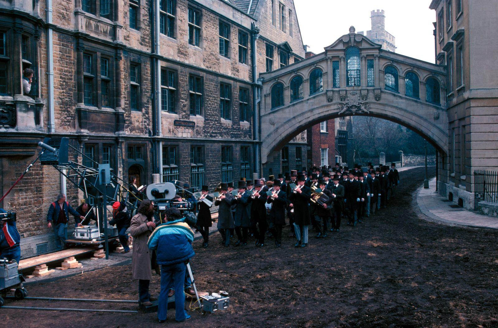 """Heaven's Gate"" Filming Behind the Scenes © 1980 United Artists ** I.V."