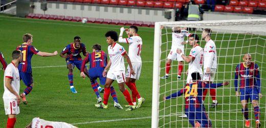 Copa del Rey: FC Barcelona gewinnt dramatisches Halbfinale gegen den FC Sevilla