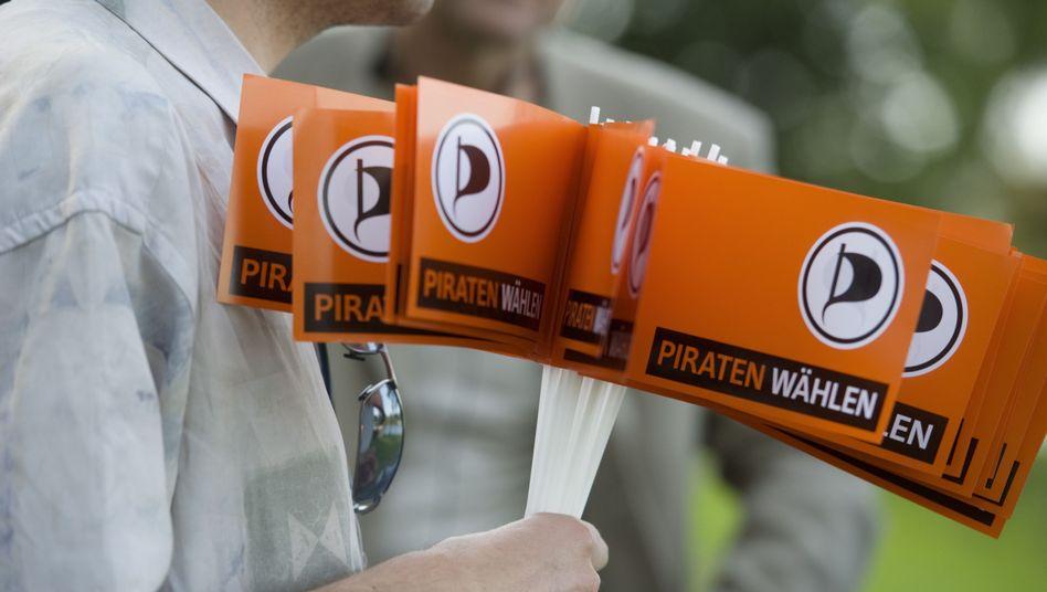 Piraten-Fähnchen: Die Partei bekommt bundesweit immer mehr Zuspruch