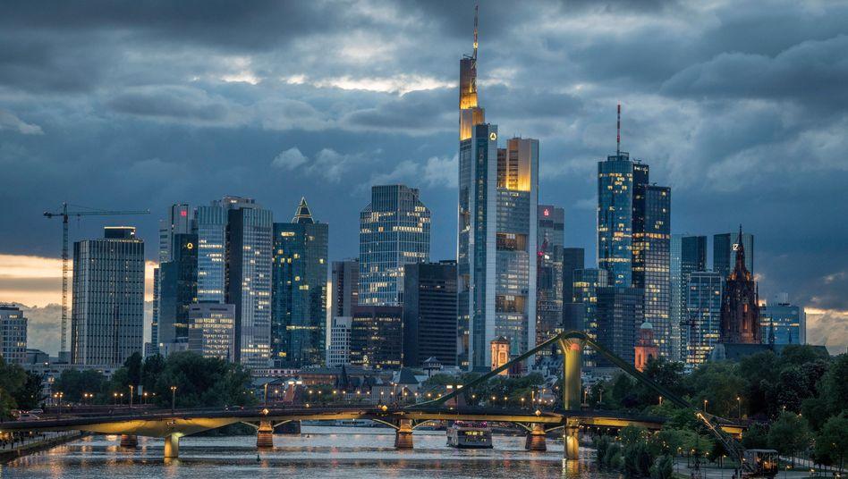 Skyline von Frankfurt: Die Finanzkrise hat die Koordinaten und die Begriffe verschoben