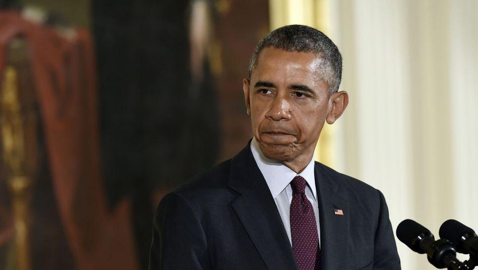 US-Präsident Obama: Kritik an Benjamin Netanyahu