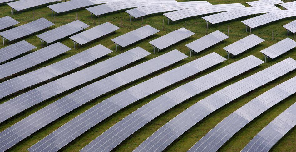 Solarpark in Unterfranken: Harter Preiskampf mit China