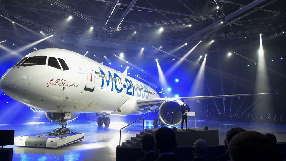 """Mittelstrecken-Jet """"MC21"""": Russlands neuer Flieger"""