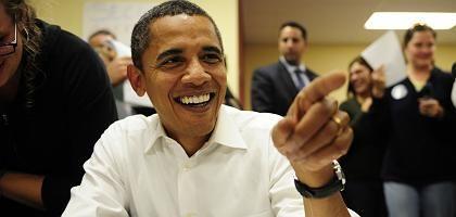 US-Präsidentschaftskandidat Obama: Vorsprung in den Umfragen