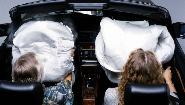 Soft Origami: Airbags clever falten