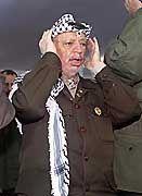 Yassir Arafat: Immer noch im Mittleren Osten