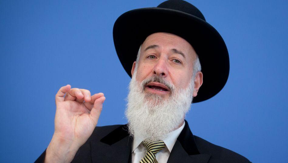 """Oberrabbiner Metzger: """"Kein Jude hat wegen der Beschneidung ein Trauma erlitten"""""""