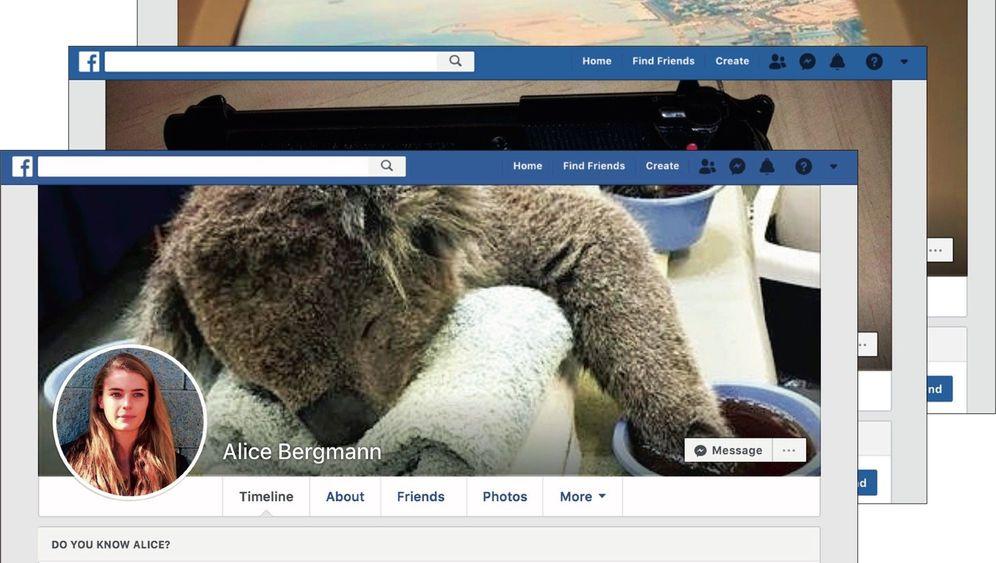 """Fake-Accounts auf Facebook: """"Ein Katz-und-Maus-Spiel mit den Betreibern"""""""