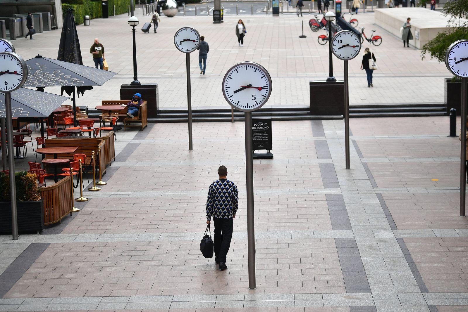 Arbeitnehmer kehren nach London zurück