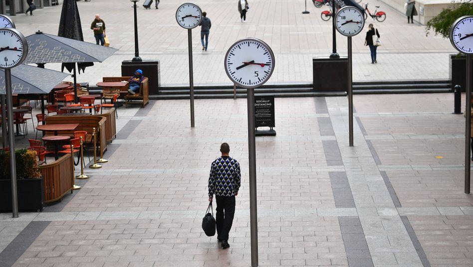 Einkaufsstraße in London: Stimmung so schlecht wie in der Finanzkrise