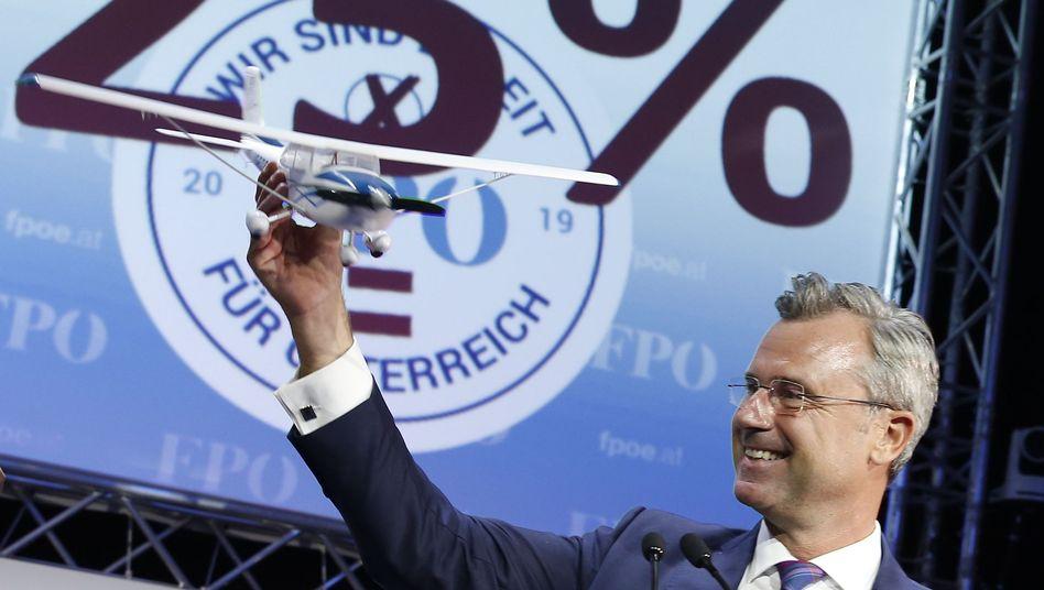 Politischer Höhenflug: Was Norbert Hofer nach seiner Wahl vorhat