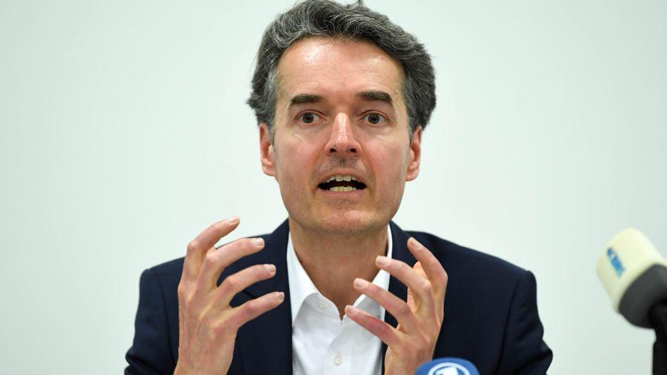 Alexander Mitsch nach der Gründungsveranstaltung der WerteUnion 2017