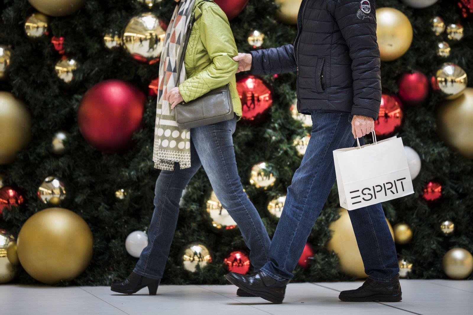EINMALIGE VERWENDUNG Weihnachten / Geschäfte /