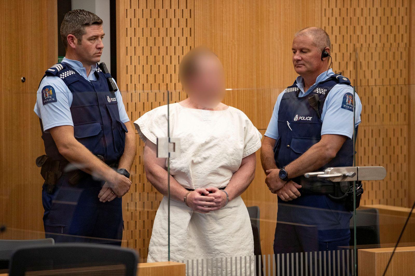 Christchurch-Attentäter Brenton Tarrant