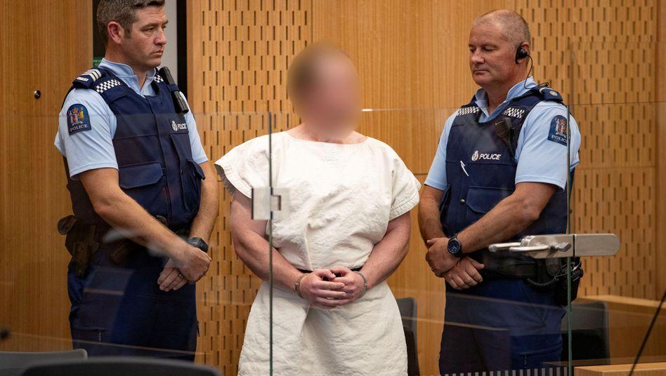 Der Angeklagte im März vor Gericht: Der Prozess gegen ihn soll am 4. Mai 2020 beginnen
