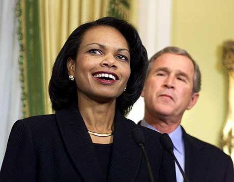"""""""Entsprechen nicht den Horrorgemälden"""": Schäuble über US-Sicherheitsberaterin Condoleezza Rice, Bush"""