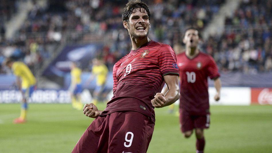 Portugals Goncalo Paciencia: Torschütze gegen Schweden