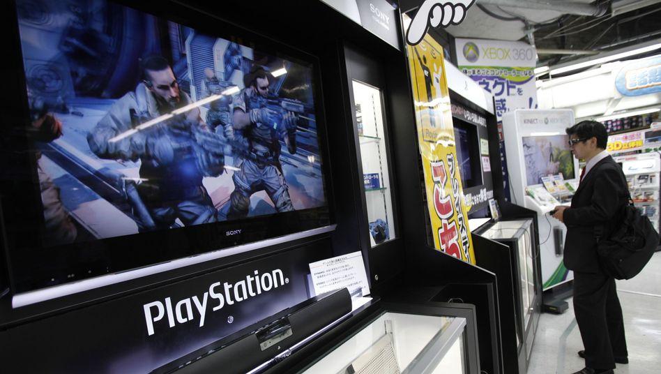 Sony-Messestand: 24,6 Millionen Nutzerkonten gestohlen