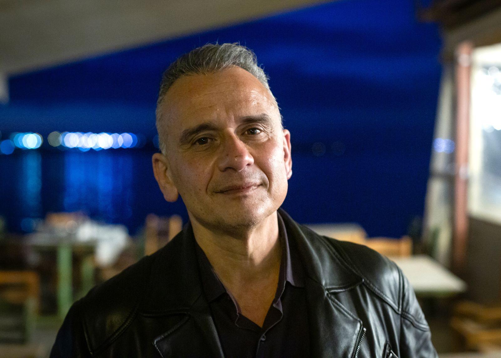 Dimitris Vafeas/ Manager des Moria Camp