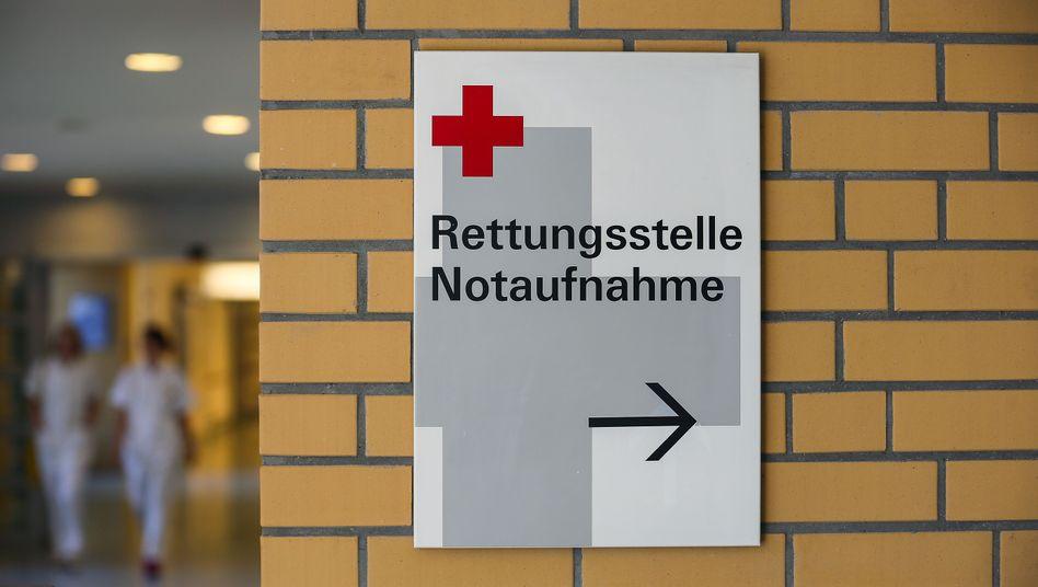 """Wegweiser zu einer Ambulanz: """"Nicht gewollte Anreize"""""""
