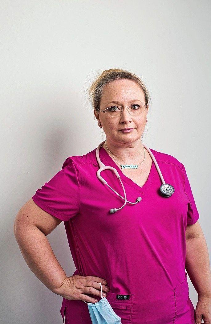 The British general practitioner Stephanie de Giorgio