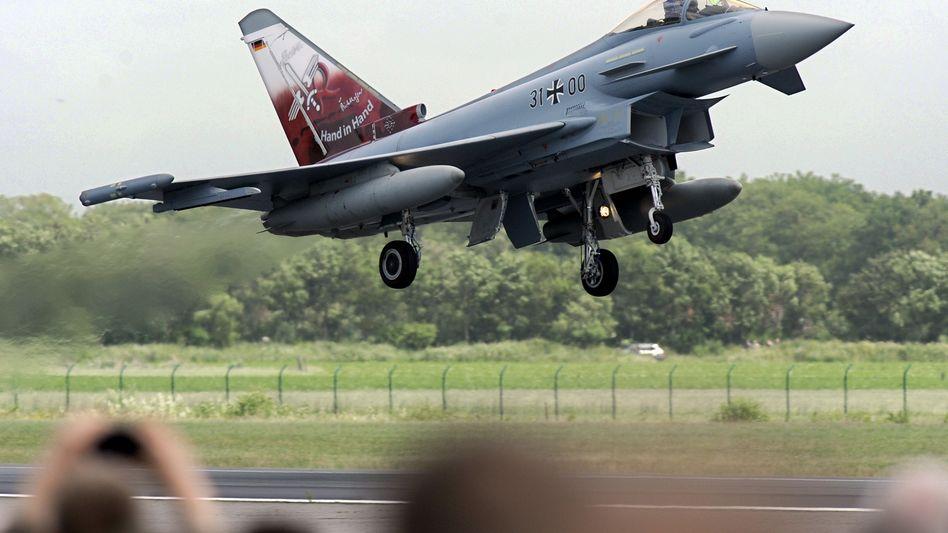 """""""Eurofighter"""": Trostpflaster für das Rüstungsunternehmen MTU"""