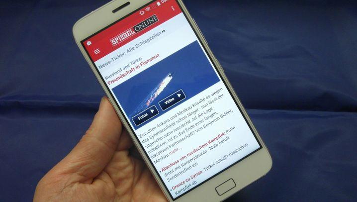 Günstiges XL-Smartphone mit Ausdauer: Zuk Z1
