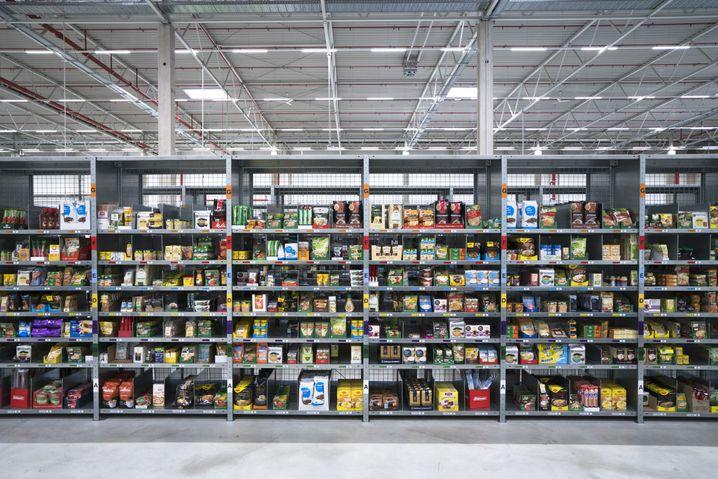 Amazon-Fresh-Lager in Berlin