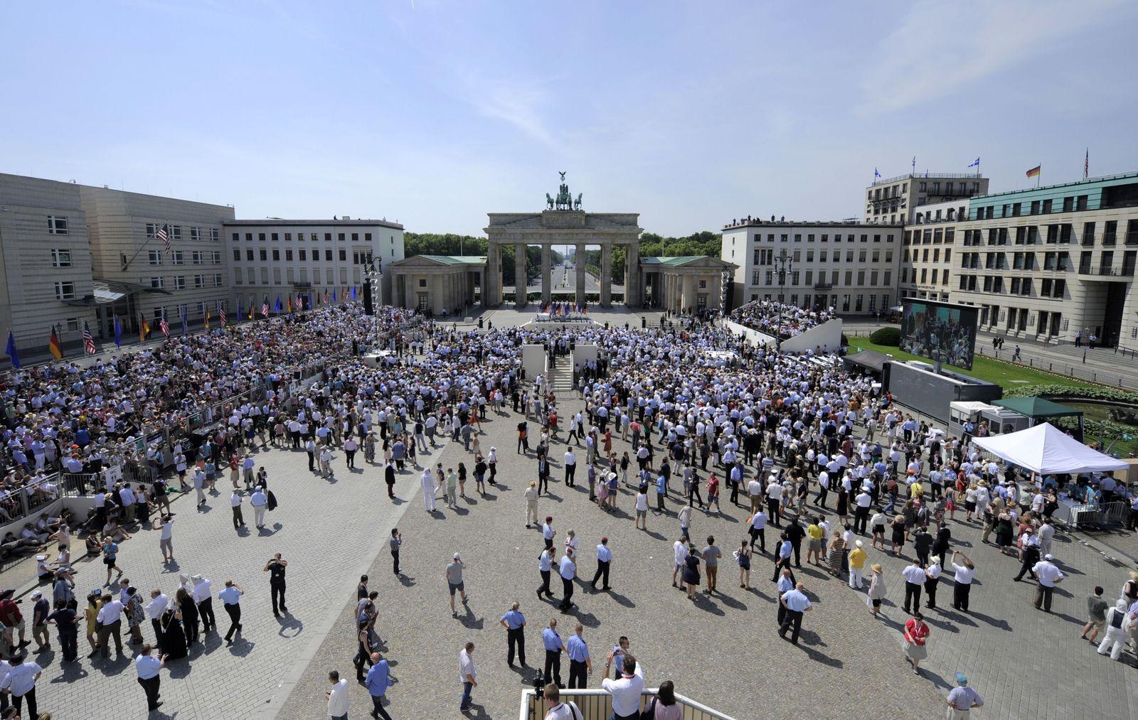 Brandenburger Tor/ Obama Besuch