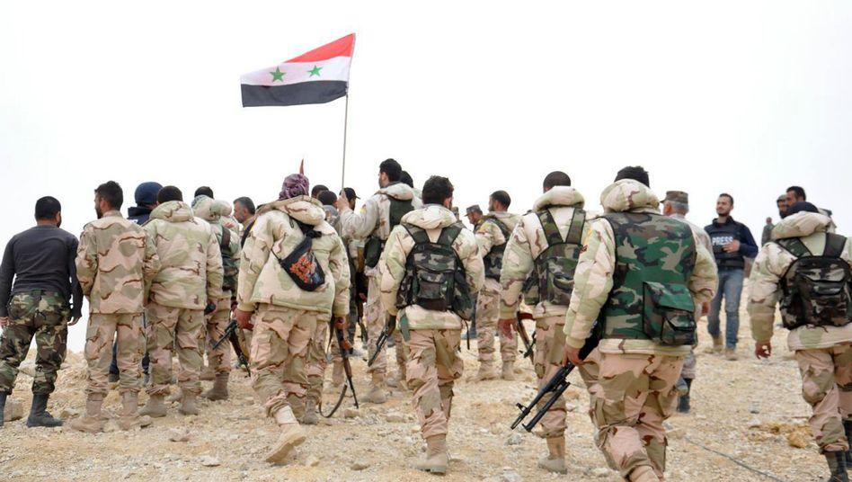 Assad-Soldaten