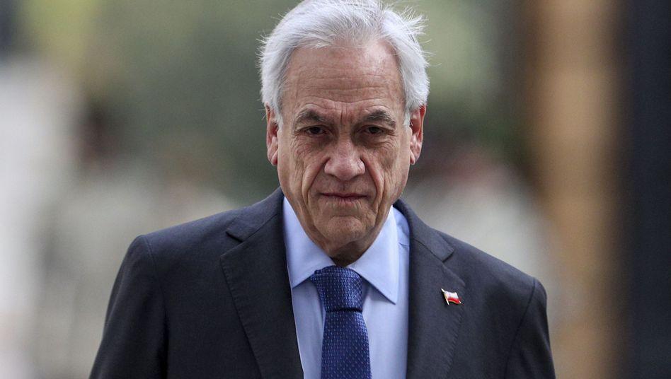 Chiles Präsident Sebastian Piñera: Beliebtheitswert auf 13 Prozent gesunken