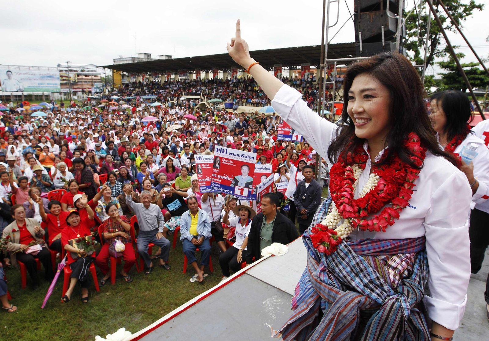 Thailand Wahl Yingluck Shinawatra