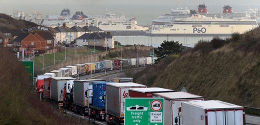 Brexit torpediert britische Exporte: »Mindestens 50 Prozent der Lkw fahren leer«