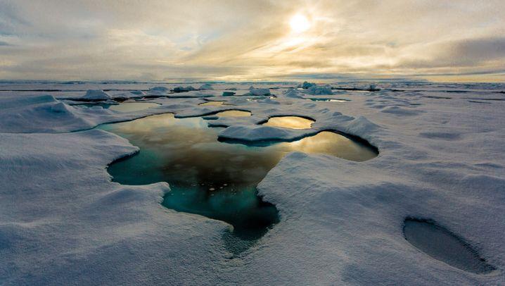 Nordpol-Untersuchung: Eis aus Plastik